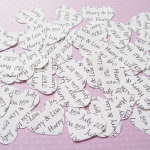 250 Personalised Text Confetti - Ch..