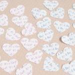 10 x Confetti Organza Bag Favors wi..