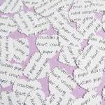200 Personalised Text Confetti - C..