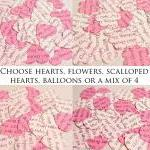 100 x Personalised Pink Confetti - ..